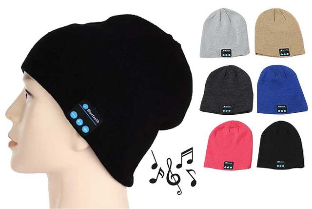 7cbf1e1dd95 £8.99 instead of £39.99 (from Magic Trend) for a Bluetooth music hat –  choose from six colours and save 78%