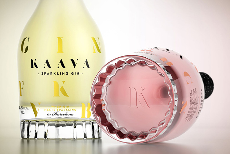 Image of £29.99 instead of £44.92 (from OnlyHere4) for a bottle of Spanish Kaava sparkling gin –save 33%