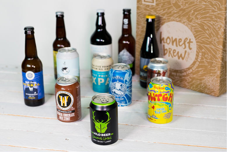 £16 instead of £32.90 for a 12-beer hamper with a £10 voucher to spend and an introductory magazine from HonestBrew – find a new favourite brew and save 51%