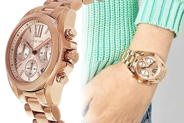 50238fcc990f £99 instead of £229 (from Best Watch Company) for a trendy Michael Kors  MK5799 watch - save 57%
