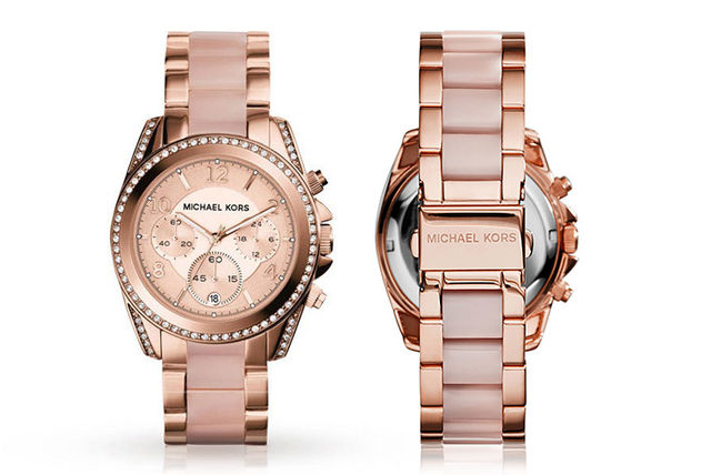 beb0a1e8a4b0 £119 instead of £309 (from Best Watch Company) for a ladies  Michael Kors  MK5943 rose-gold plated watch - save 61%