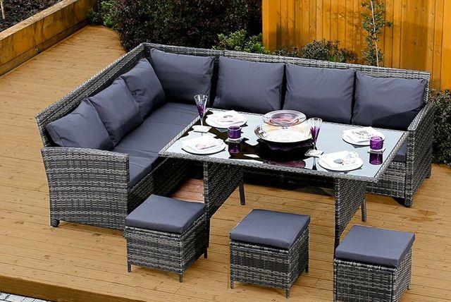Rattan Sofa And Dining Set Shopping Livingsocial