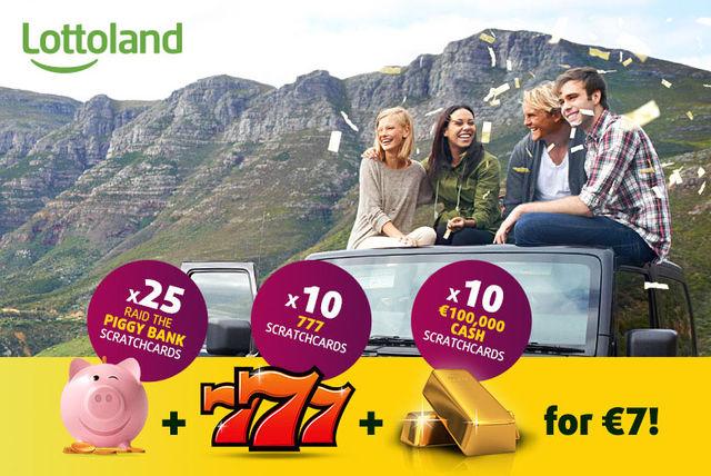 45 Lottoland Scratchcards Voucher | Activities deals in