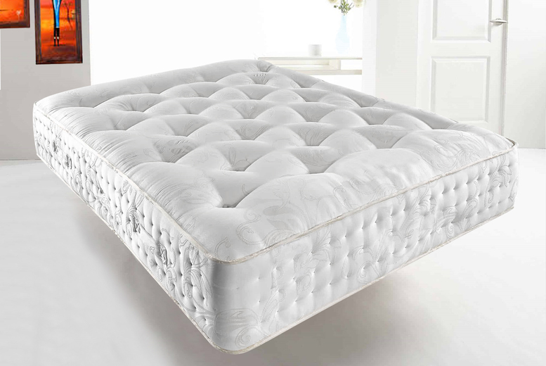 Deluxe 3000 Memory Pocket Sprung Mattress – 4 Sizes! (£199)
