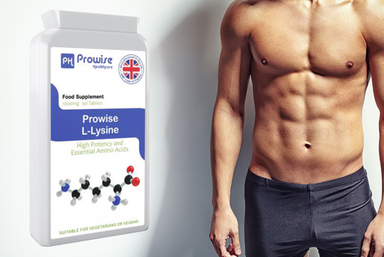 ?8.99 (from Prowise) for a three month supply* of Prowise L-Lysine tablets