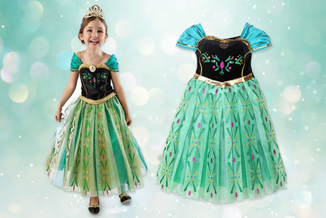 85a1ffb243380 Green Princess Dress | Toys deals in Shopping | LivingSocial