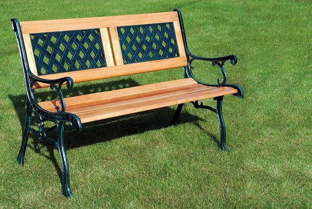 Florence Garden Bench   Garden deals in Shopping   LivingSocial