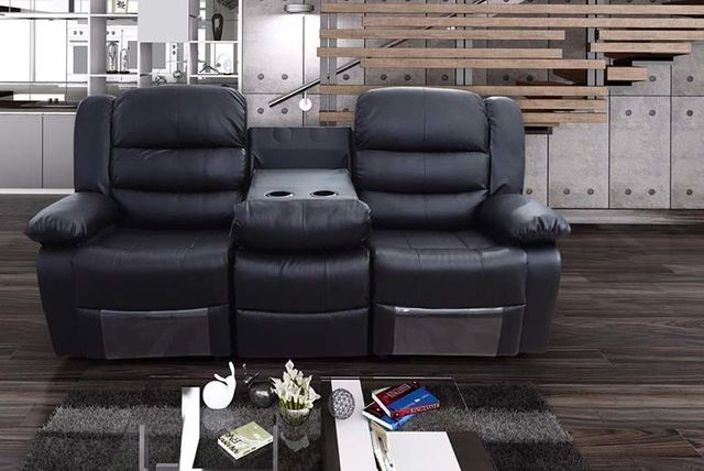 & Romina Leather Recliner Sofas with Cup Holders u2013 2 Colours! islam-shia.org
