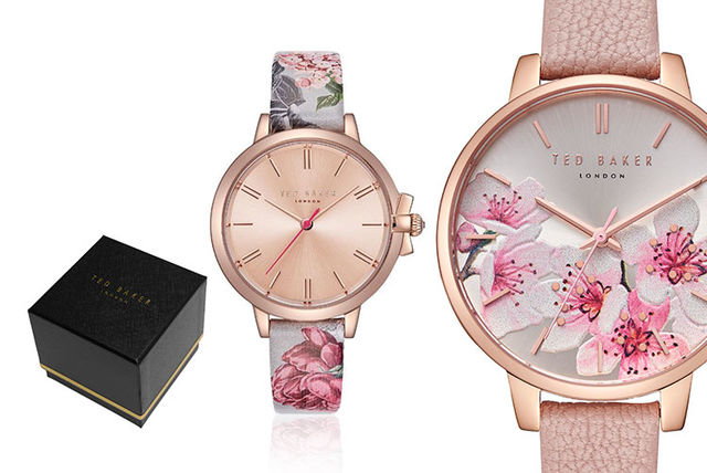 dc8eb4d67 From £39.99 instead of £135 (from Brand Arena) for a Ted Baker floral ladies  watch - save up to 70%