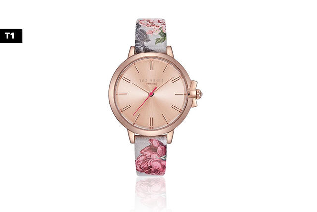 6966d9f56 From £39.99 instead of £135 (from Brand Arena) for a Ted Baker floral  ladies watch - save up to 70%