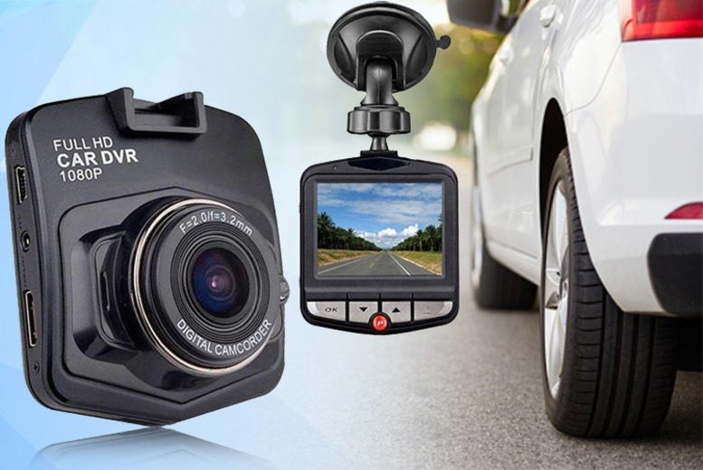 £11 instead of £49.99 (from Bellap) for 1080p DVR dash cam - save 78%