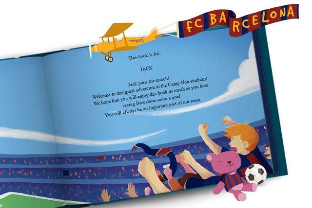 86da0b4d7 Personalised Football Storybook
