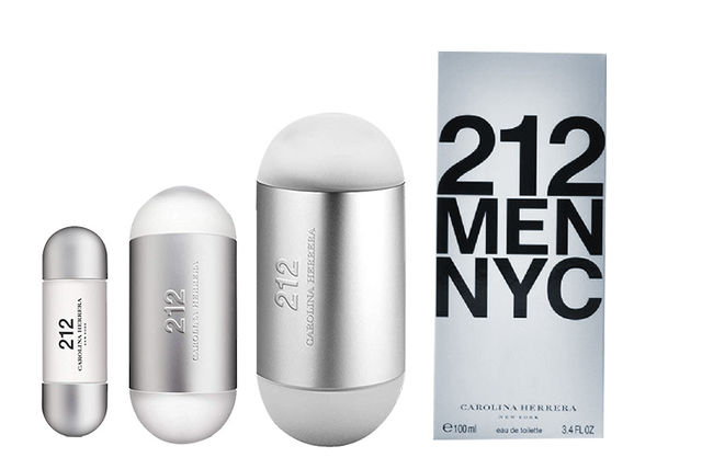 e064d85e7e £18.98 instead of £41.01 for a 30ml Carolina Herrera 212 NYC EDT Spray,  £32.98 for 60ml, or £41.98 for 100ml - save up to 54%!