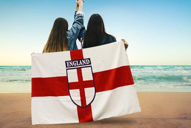 8795c7cb783 England Design Beach Towel
