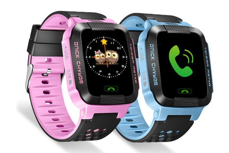 £10.99 instead of £69.99 for a child safety gps tracker watch - choose from two colours from Spot Promotions - save 84%