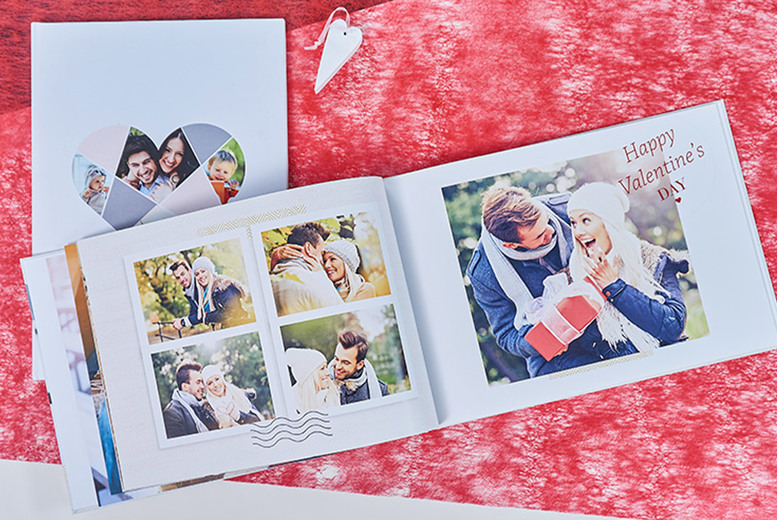 Image of £19.99 instead of £90.95 (from colorland) for a landscape or portrait 160-page personalised A4 photobook, or £38.90 for two - save up to 78%