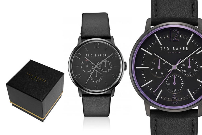 From £39.99 instead of £165 (from Brand Arena) for a Ted Baker men's watch - choose from 16 designs and save up to 76%