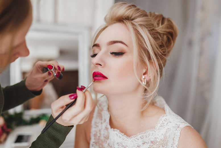 ?9 instead of ?99 for an an online bridal & special occasions makeup from International Open Academy - save 91%