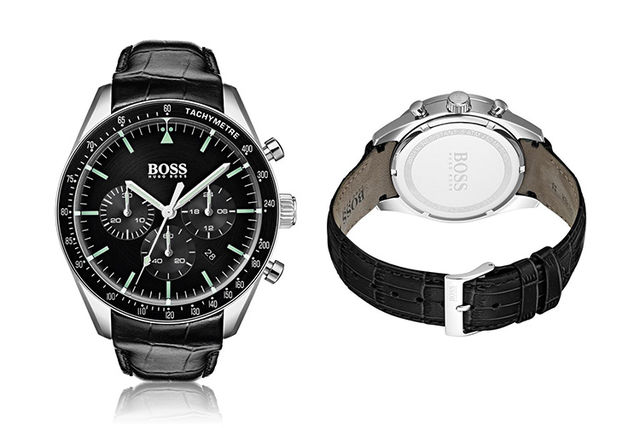 50889ed50fb £159 instead of £299 (from Ticara Watches) for a Hugo Boss 1513625 men's  Trophy watch - save 47%