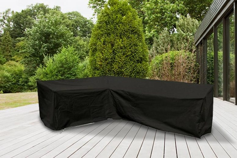 L-Shaped Weatherproof Garden Furniture Cover (£14.99)