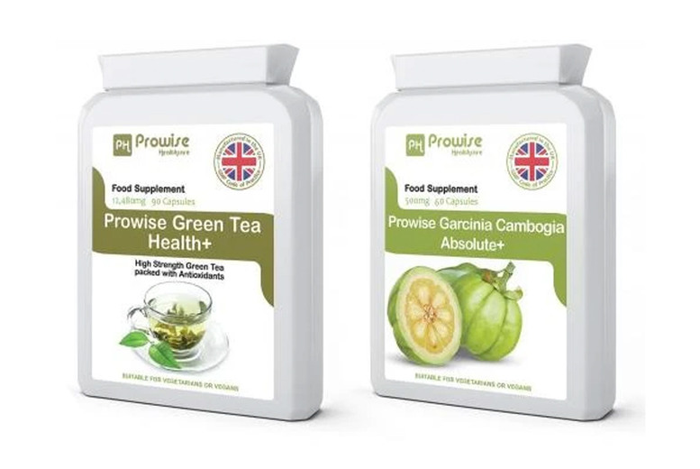 ?9.99 for a green tea & garcinia bundle from PROWISE HEALTHCARE LTD