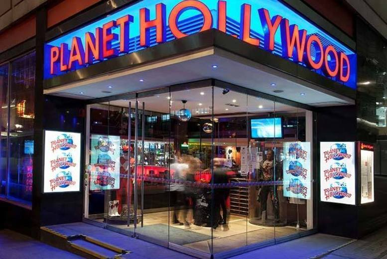 £99pp (from OMGhotels.com) for an overnight 4* London stay with breakfast, dinner and a cocktail at Planet Hollywood, or £169pp for two nights