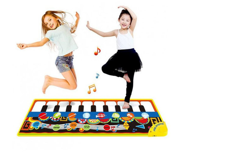 Image of £11.99 instead of £29.99 (from My Brand Logic) for a musical piano play mat – save 60%