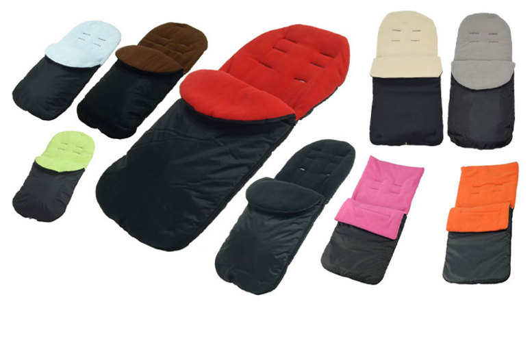 Image of £8.99 (from For Your Little One) for a baby pushchair and pram footmuff