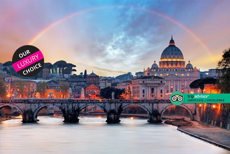 Escape with a two, three or four-night 4* central Rome getaway – Now with the ability to choose your flight!