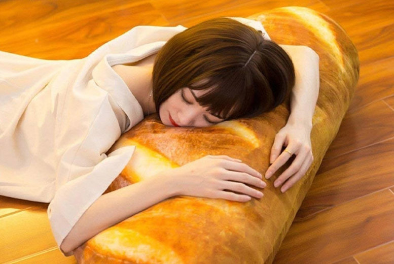 Bread Shaped Pillow (£8.99)