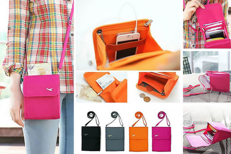 Image of From £4.99 for a travel document handbag - 4 colours! from London Exchain Store - save up to 75%