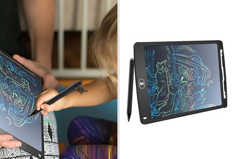 Image of £8.99 instead of £44.99 (from Bellap) for a digital drawing and writing pad - save 80%