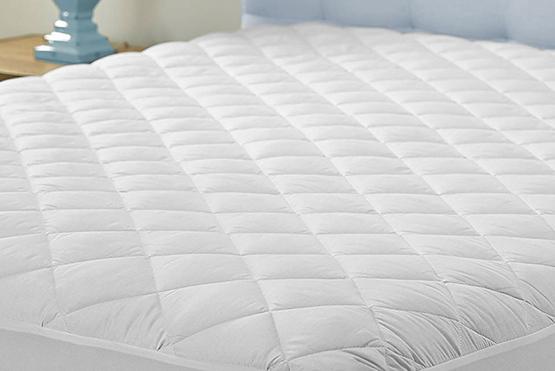 Thermal Control Triple-Filled Mattress Topper – 4 Options! (£13.99)