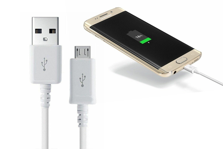 Image of £2.99 instead of 9.99 (from Eshaan) for a 1m charging cable or £3.99 for a 2m charging cable - Save 70%
