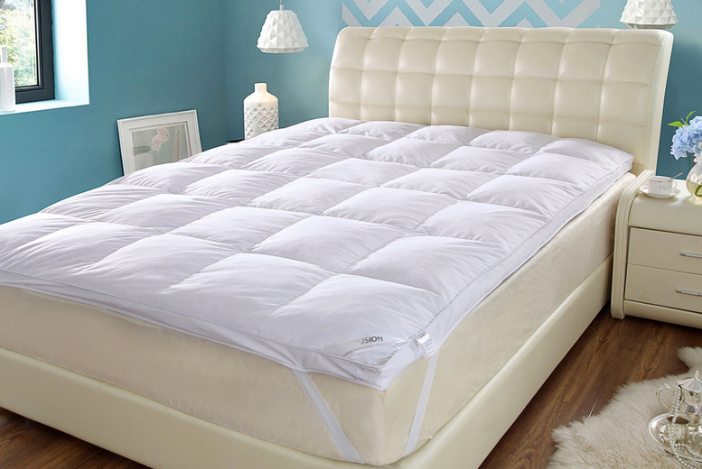Luxury Duck Feather Mattress Topper (£14)