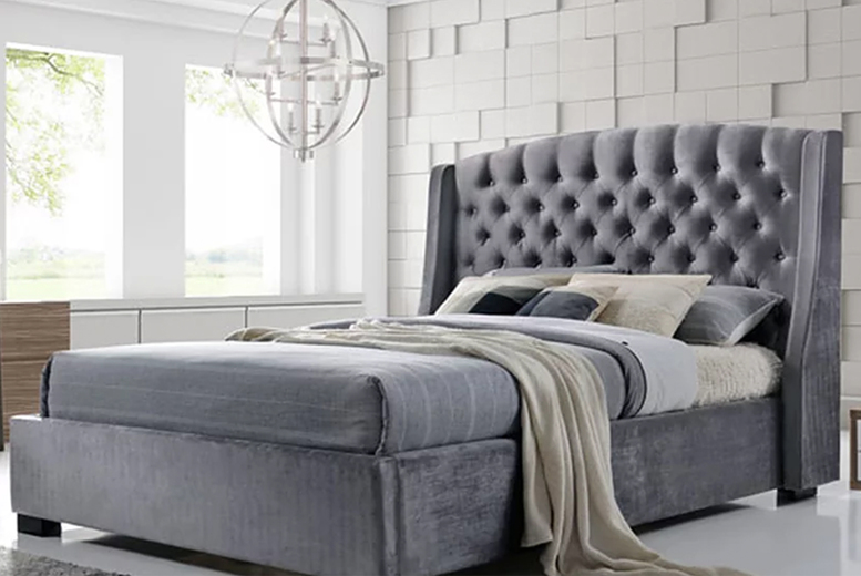 Grey Brando Bed – 6 Options! (£329)
