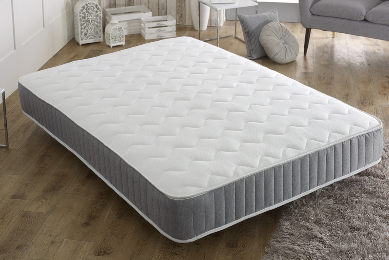 Cool-Touch Quilted Memory Sprung Mattress (£49)