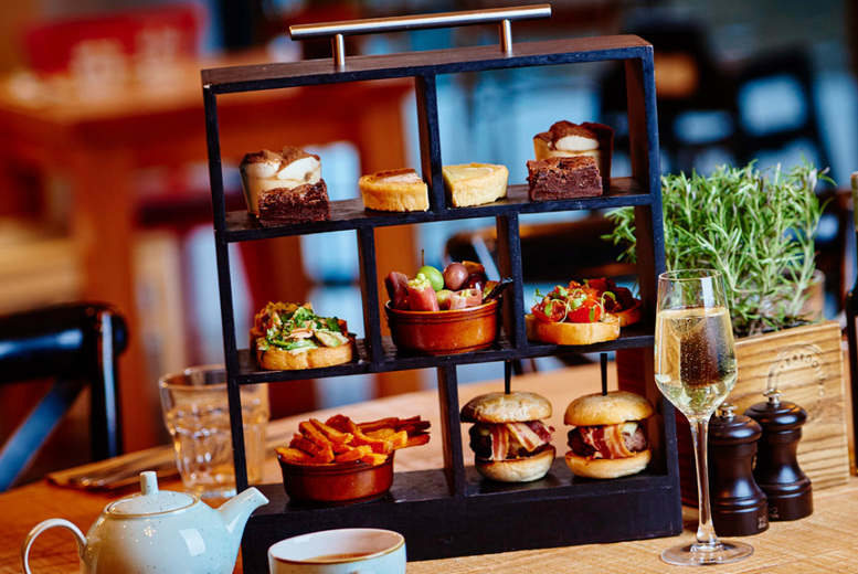 Image of £25 instead of £45 for a sparkling afternoon tea for two people, £29 to have an Italian sparkling afternoon tea at Marco Pierre White's Bardolino, Birmingham - save up to 44%