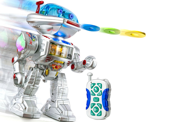 Image of £14.99 instead of £76 (from Spire-Tech) for a remote control toy robot – save 80%