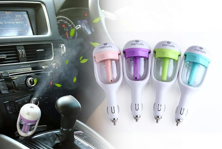 £6.99 instead of £29.99 (from Flashing Pineapple) for a mini car air humidifier - save 77%