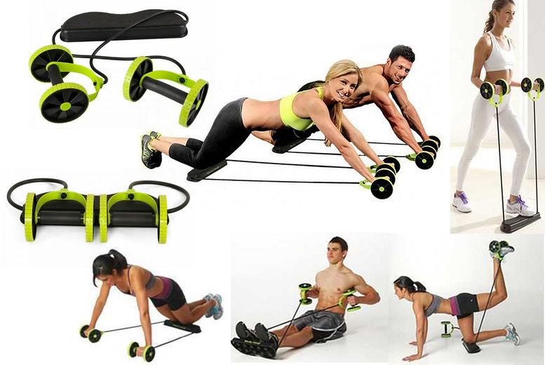 Image of £13.99 (from Hey4Beauty) for an abdominal resistance fitness roller