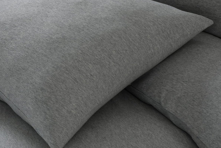 Fleecy Jersey Pillowcases & Fitted Sheets – 7 Options! (£8.99)