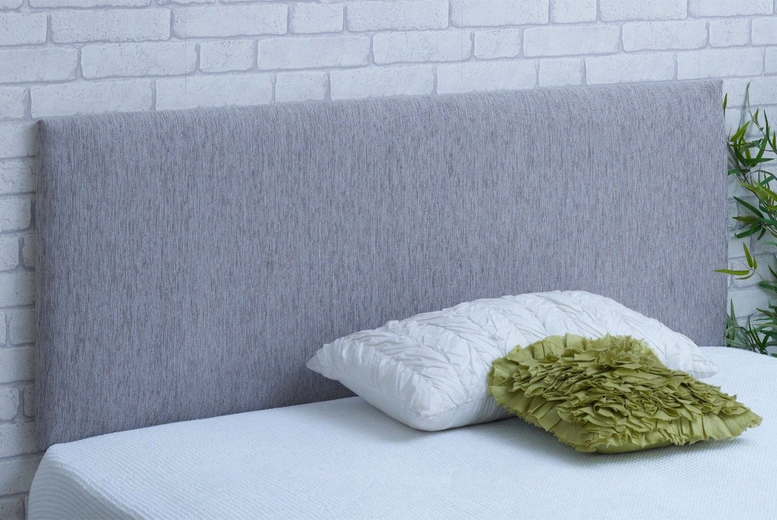 Image of From £17.99 for a chenille headboard from Serene Living - save up to 60%