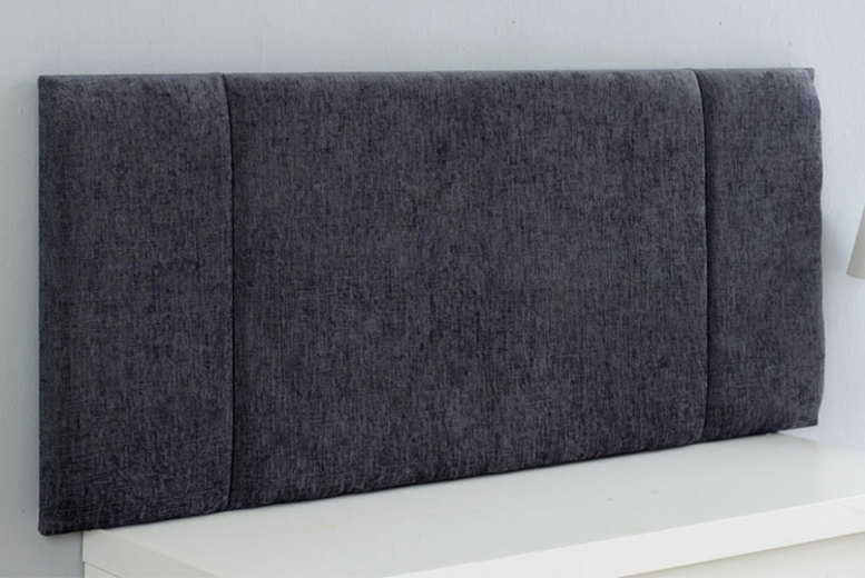 Image of From £22 for a portobello chenille fabric headboard from Serene Living - save up to 44%