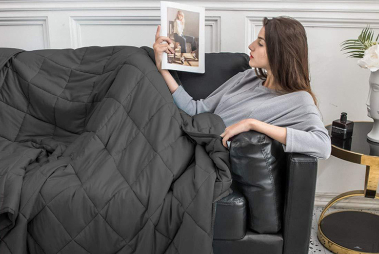 Anti-Anxiety' Weighted Blanket (£29)