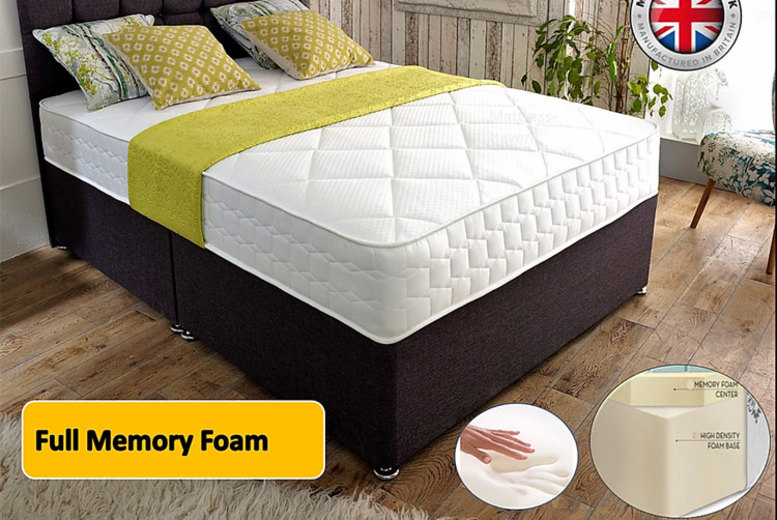 Image of From £159 for a cool-flex full memory foam mattress, 2 in or 3 in of memory foam from Mattress Haven - save up to 80%