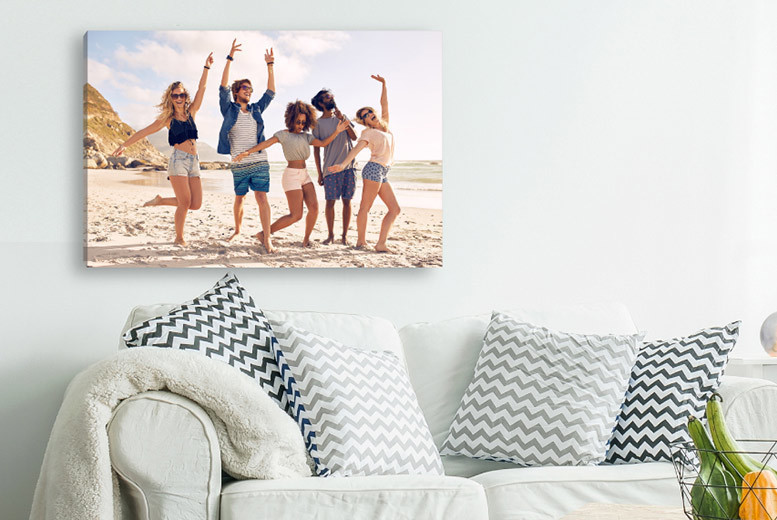 Image of From £2.95 instead of £29.99 (from Deco Matters) for a personalised canvas - choose from six sizes and save up to 90%