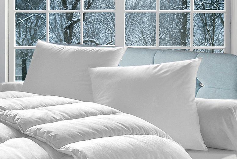 16.5 Tog Winter Duvet with 4 Pillows (£16.99)
