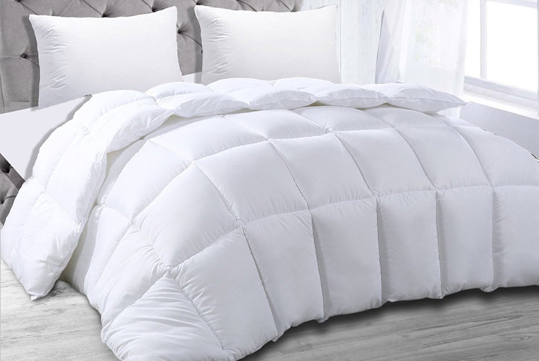 9 Tog + 4 Tog Bounce Back Duvet – 4 Sizes! (£24.99)
