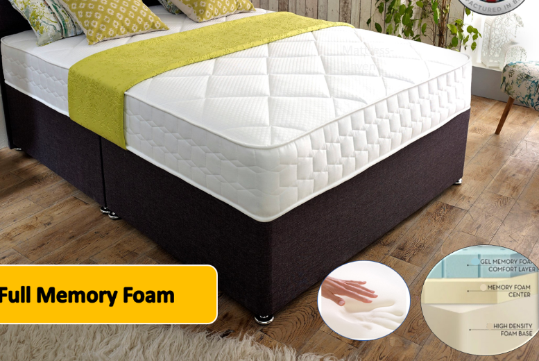 Image of From £219 for a cool-flex full gel memory foam from Mattress Haven - save up to 74%